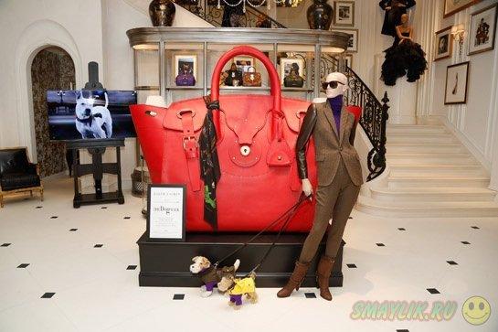 Ральф Лорен создал гигантскую сумку Ricky XXL