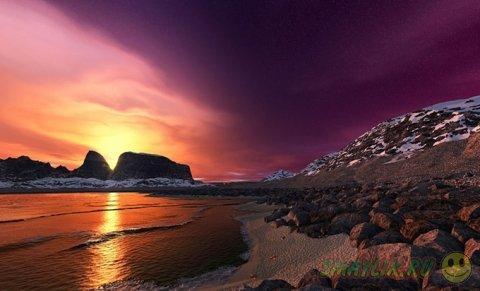 Теплые краски закатов со всего мира