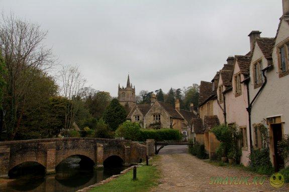 Самая крсивая деревня в Англии - Касл Комб