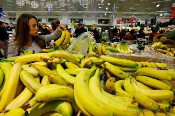 В норвежском магазине придумали необычную акцию - «Подпиши банан»