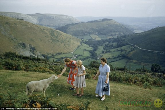 Редкие снимки Великобритании  в 1952 году