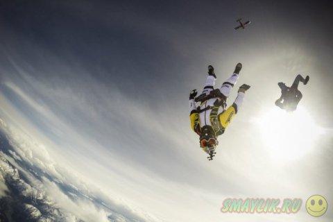 Прыжок над самой высокой вершиной Австрийских Альп