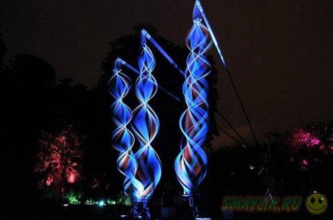 Фестиваль световых инсталляций Lumina 2014 в Португалии