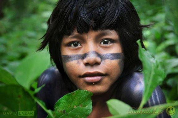 Удивительная жизнь коренных членов амазонского племени