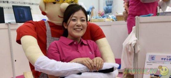 В Токио создали кресло для одиноких пожилых людей