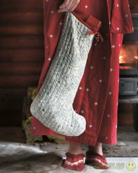Рождественские носочки - хранители подарков для детишек