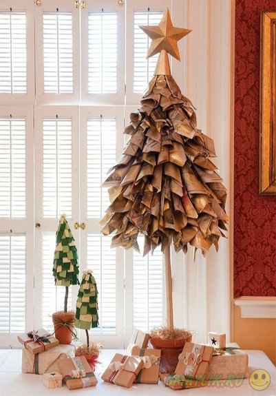 Необычные идеи для новогодней елки