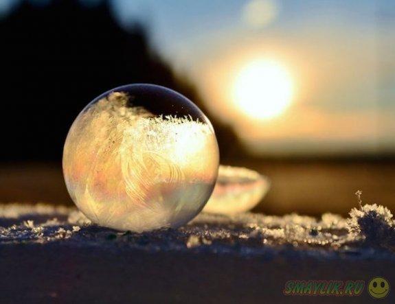 Красота, созданная зимой
