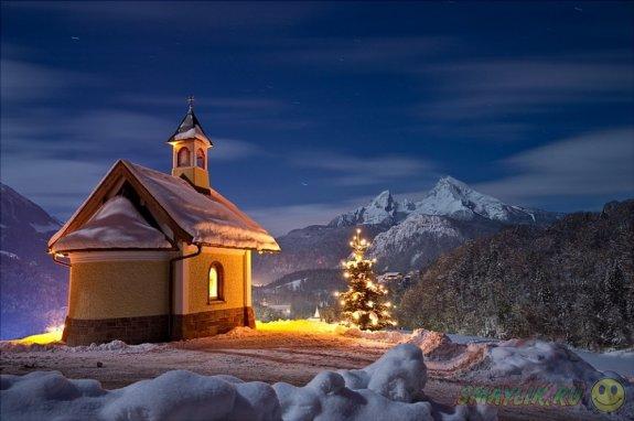 Сказка в зимних пейзажах