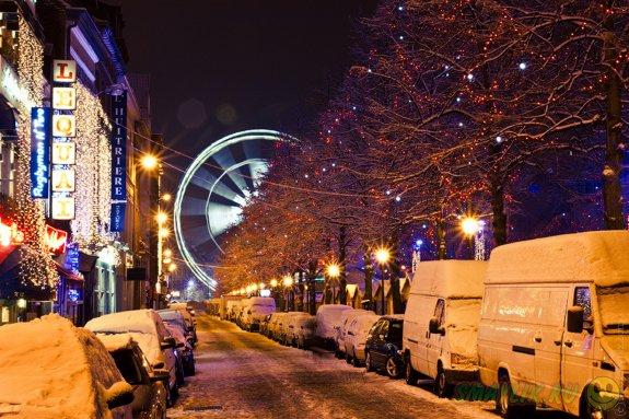 Рождественское путешествие в Бельгию