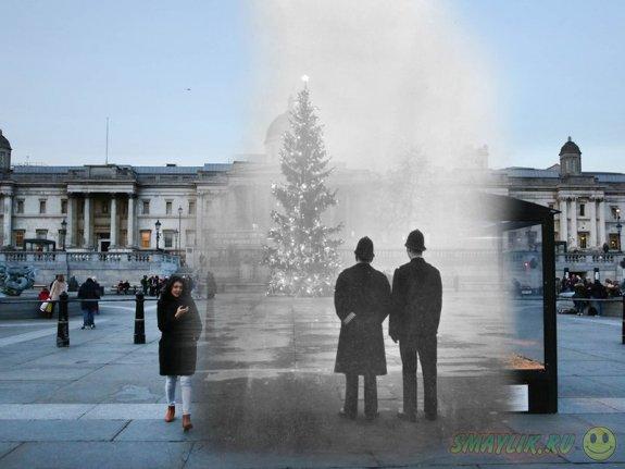 Новый взгляд на старые рождественские фотографии