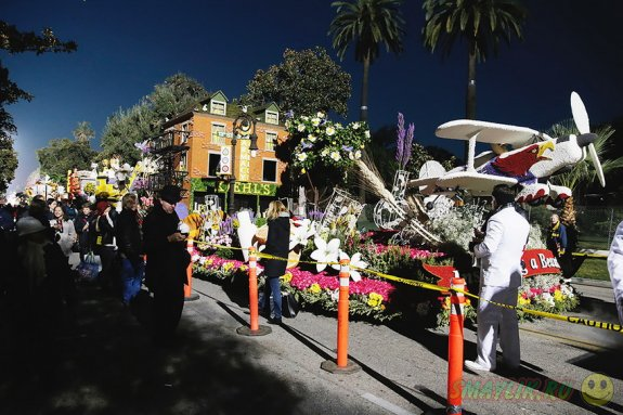 126-й новогодний Парад роз в Калифорнии