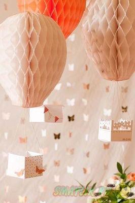 Особое очарование воздушных шаров в интерьере