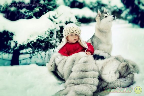 Волшебная зима в фотографиях Елены Карнеевой