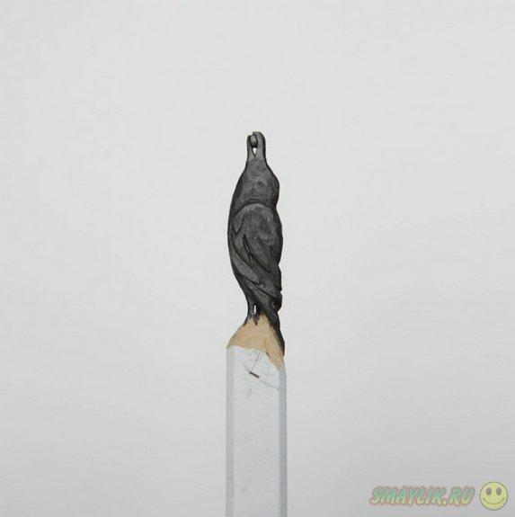 Удивительное искуство из обычных карандашей