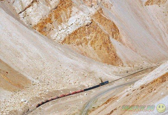 Уникальная железная дорога в южноамериканском Чили
