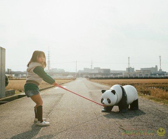 Счастливое детство по-японски в фотографиях от Нагано Тоёкацу